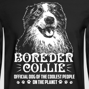 Border Collie Shirt - Men's Long Sleeve T-Shirt