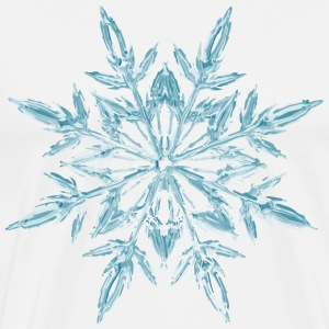 Christmas Ice Crystal T-Shirts - Men's Premium T-Shirt