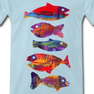 Fishes T-Shirts - Men's Premium T-Shirt