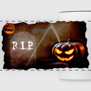 Halloween cemetery Mugs & Drinkware - Panoramic Mug