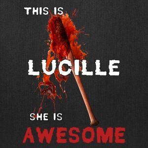 This is Lucille She is AWESOME Bags & backpacks - Tote Bag