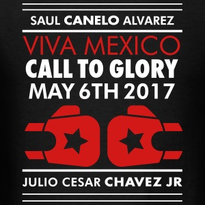 CANELO vs CHÁVEZ JR.  T-Shirts - Men's T-Shirt