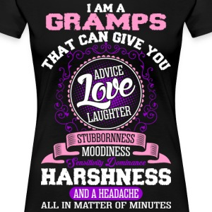 I Am A Gramps T-Shirts - Women's Premium T-Shirt