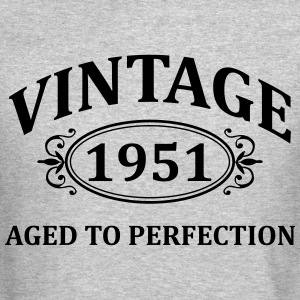 Vintage 1951 Aged to Perfection Long Sleeve Shirts - Crewneck Sweatshirt