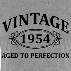 Vintage 1954 Aged to Perfection Women's T-Shirts
