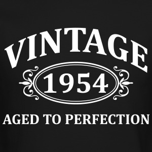 Vintage 1954 Aged to Perfection Long Sleeve Shirts - Crewneck Sweatshirt