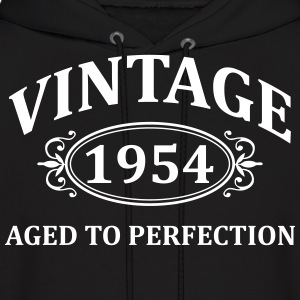 Vintage 1954 Aged to Perfection Hoodies - Men's Hoodie