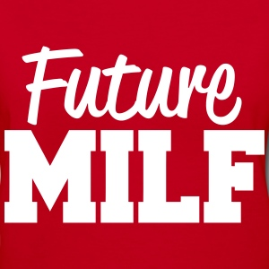 Future MILF Women's T-Shirts - Women's V-Neck T-Shirt