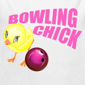 Bowling Chick Baby & Toddler Shirts - Long Sleeve Baby Bodysuit