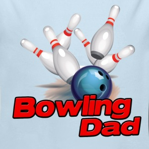 Bowling Dad (S) Baby & Toddler Shirts - Long Sleeve Baby Bodysuit