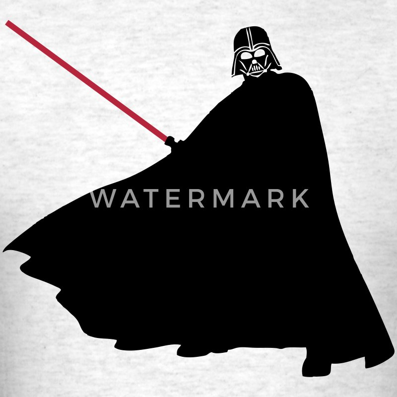 Darth Vader Silhouette T-Shirts - Men's T-Shirt