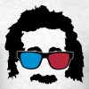 Einstein 3D Glasses T-Shirts - Men's T-Shirt