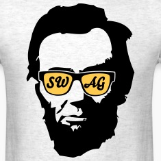 Abraham Lincoln Glasses T-Shirts