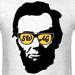 Abraham Lincoln Glasses T-Shirts - Men's T-Shirt