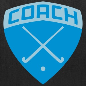 Field Hockey Coach Shield Bags & backpacks - Tote Bag
