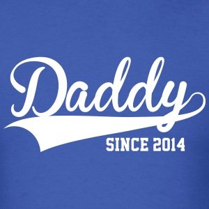 Daddy Since 2014 - Men's T-Shirt