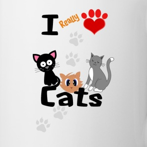 I REALLY LOVE CATS - Coffee/Tea Mug