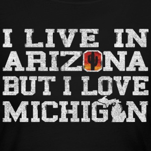 live_arizona_love_michigan Long Sleeve Shirts - Women's Long Sleeve Jersey T-Shirt
