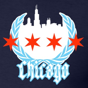 Chicago Flag - Men's T-Shirt