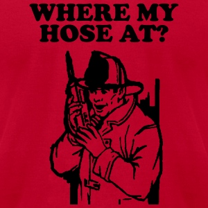 Hose At? T-Shirts - Men's T-Shirt by American Apparel