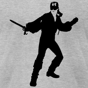 Dread Pirate Roberts T-Shirts - Men's T-Shirt by American Apparel