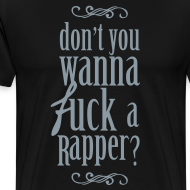 Design ~ f*ck a rapper [metallic silver]