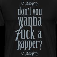 Design ~ f*ck a rapper [metallic silver]