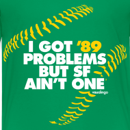 Design ~ '89 Problems - Kids Tee