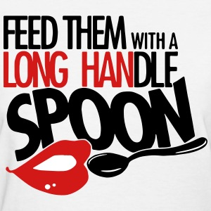 long handle spoon Women's T-Shirts - Women's T-Shirt