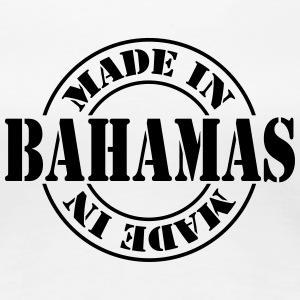 made_in_bahamas_m1 Women's T-Shirts - Women's Premium T-Shirt