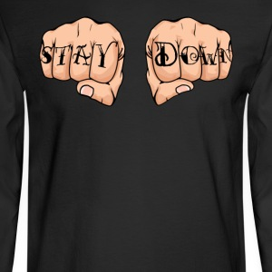 Corey Graves - Stay Down - Men's Long Sleeve T-Shirt
