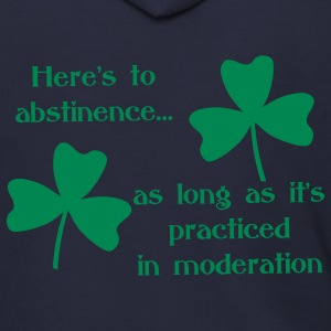 Abstinence Shamrock Zip Hoodies & Jackets - Men's Zip Hoodie