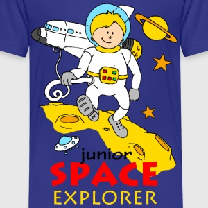 Junior Space explorer Baby & Toddler Shirts - Toddler Premium T-Shirt