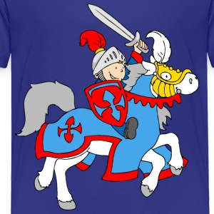 Boy Knight on a Horse Baby & Toddler Shirts - Toddler Premium T-Shirt