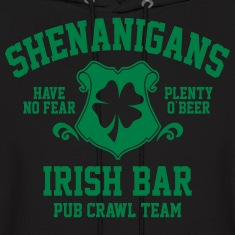 shenanigans irish pub crawl team