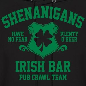 shenanigans irish pub crawl team - Men's Hoodie