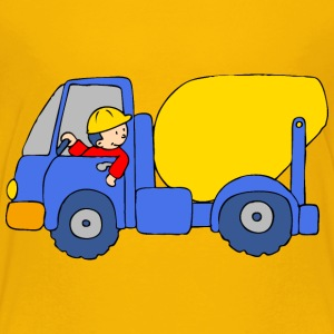 Concrete Mixer Truck Baby & Toddler Shirts - Toddler Premium T-Shirt