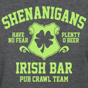shenanigans irish pub crawl team - Women's T-Shirt