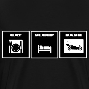 Eat, Sleep, Bash T Shirt - Men's Premium T-Shirt