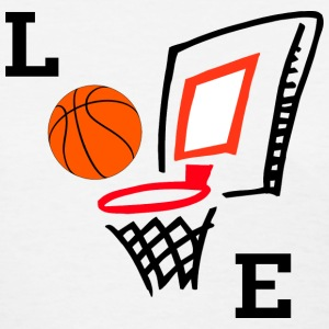 Love Basketball T-Shirt - Women's T-Shirt