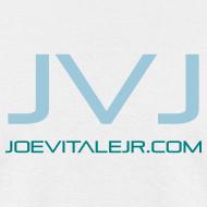 Design ~ Joe Vitale Jr JVJ Concert T-Shirt (Clean Room White)