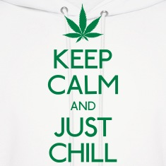 Keep Calm and just chill Hoodies