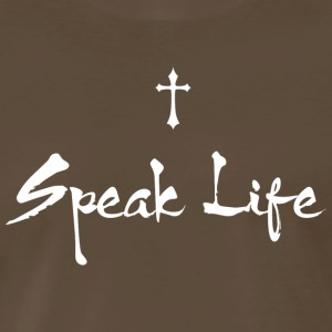 Speak Life - Men's Premium T-Shirt