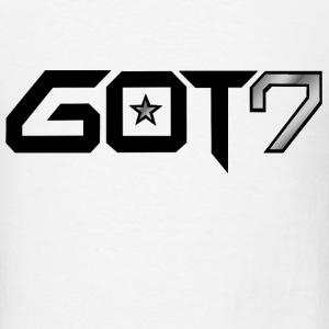 GOT7 Logo - Black T-Shirts - Men's T-Shirt