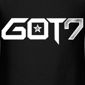 GOT7 Logo - White T-Shirts - Men's T-Shirt