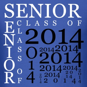 senior_2014 T-Shirts - Men's T-Shirt