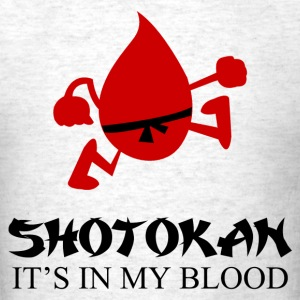 shotokan_its_in_my_blood T-Shirts - Men's T-Shirt