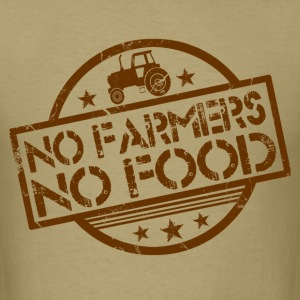 no_farmers_no_food T-Shirts - Men's T-Shirt
