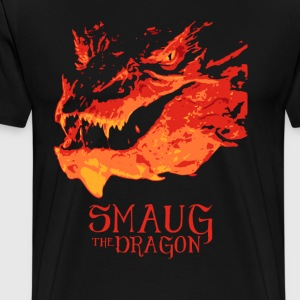 Smaug The Dragon - Men's Premium T-Shirt