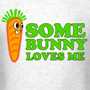 some_bunny_loves_me T-Shirts - Men's T-Shirt